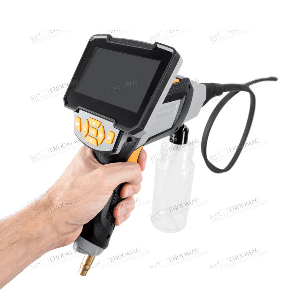 Ручной эндоскоп Inskam 503 с LCD экраном 4.3 дюйма 1080P и промывающей струёй